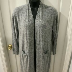 Lucky Brand Super Soft Open Front Sweater